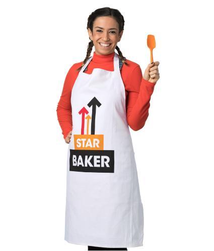 Star Baker White Apron