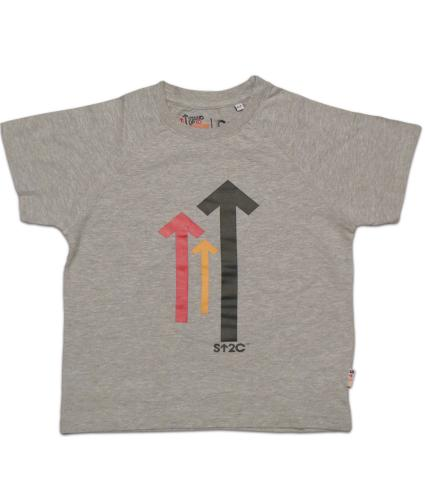 Stand Up To Cancer Kids Grey T-shirt