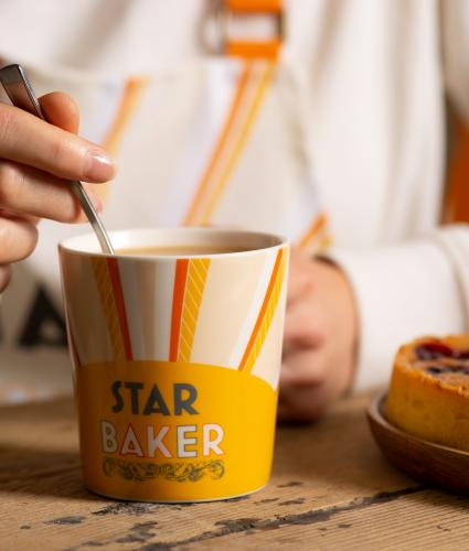 The Great Stand Up To Cancer Bake Off 2021 Star Baker Mug