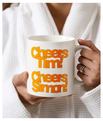 Sunday Brunch Supersized Cheers Mug