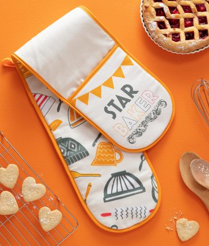 Star Baker Double Oven Gloves