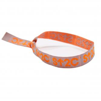 Stand Up To Cancer Short Logo Wristband