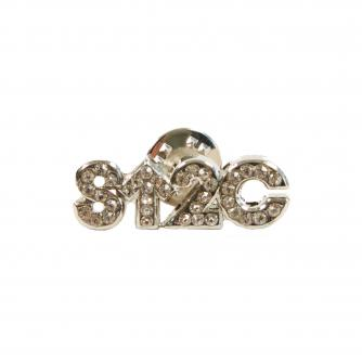 Stand Up To Cancer Diamante Pin Badge