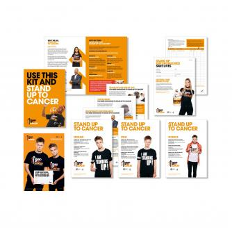 Stand Up To Cancer Schools Fundraising Pack