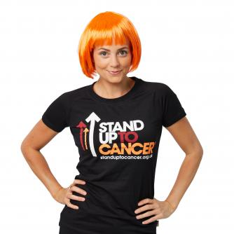 Stand Up To Cancer Orange Wig