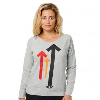 Stand Up To Cancer Women's Grey Sweater