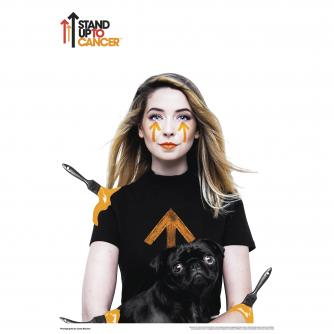 SU2C with YouTube Poster - Zoella
